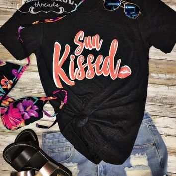 Coral Sun Kissed Graphic Tee (S-2XL)