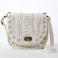 Cut-Out Crossbody Purse on LoLoBu