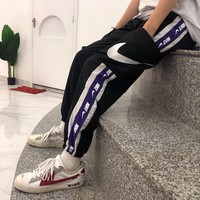 kuyou Nike vintage stitched ankle pants, matching