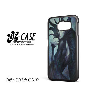 Malficient With Black Crow Stay Cool DEAL-6818 Samsung Phonecase Cover For Samsung Galaxy S6 / S6 Edge / S6 Edge Plus