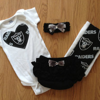 Oakland Raiders Ultimate Gift Set by BebeSucreOnline on Etsy