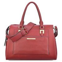 Nine West: Tilden Leather Satchel