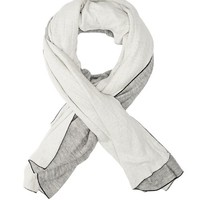 Rag & Bone - Kenbury Scarf, Blue Multi Size ONE