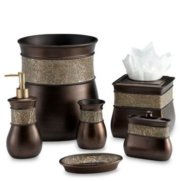 Morillo Boutique Tissue Holder in Tuscan Gold