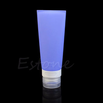 Cute Silicone Travel Bottle- Lotion Shampoo Tube Container 80ML