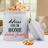Cookie Jar -  Family Designs - Bless This Home