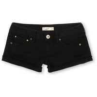 Empyre Girls Dani Black Denim Shorts