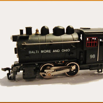 Vintage Train Model HO Scale 08301 Dockside Loco B&O Baltimore and Ohio Life-Like Locomotive IOB