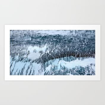RESURFACE ... Art Print by Adorehandcrafted