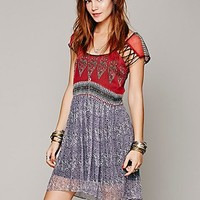 Flaming Hearts Mini Dress