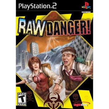Raw Danger (Sony PlayStation 2, 2007) Complete Like New