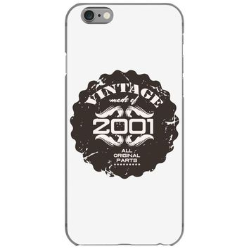 vintage made of 2001 all original parts iPhone 6/6s Case
