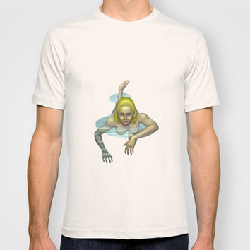 Pond Nymph T-shirt by Egberto Fuentes