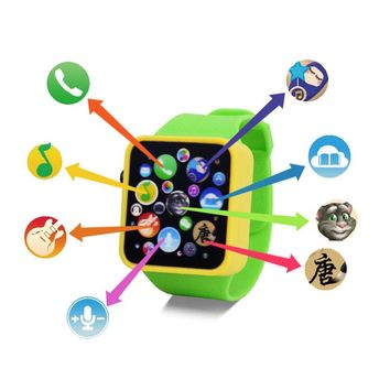 Baby Child Kids Educational Smart Watch Early Learning 3DTouch Screen Music Toy