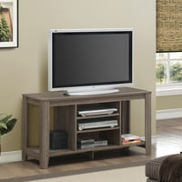 "Dark Taupe Reclaimed-Look 48""L Tv Console"