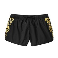 Reflective Leopard Short