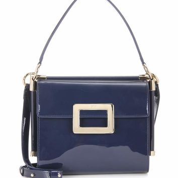 Miss Viv' Carré Small patent leather shoulder bag