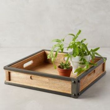 Bushwick Tray by Anthropologie in Natural Size: One Size Decor