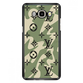 Louis Vuitton Camo Pattern Samsung Galaxy J7 (2016) Case  | Aneend.com