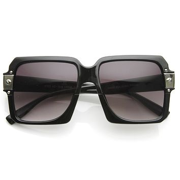 Euro Trash Super Block Square Mod Womens Fashion Sunglasses 8977