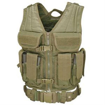 Elite Tactical Vest - Color: OD Green