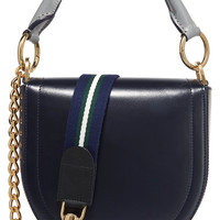 Sacai - Leather shoulder bag