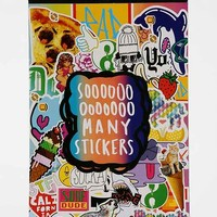 UO Sticker Book- Assorted One