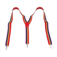 HDE Colorful Pattern Suspenders