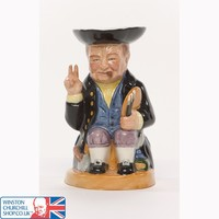 Winston Churchill Mini Rufus Toby Jug , Toby Jugs , China