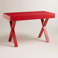 Red Josephine Desk - World Market