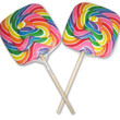Swirl Lollipop - Square