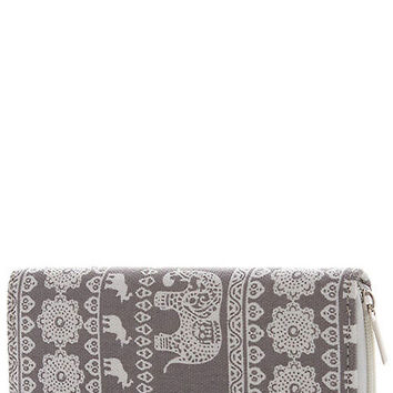 Elephant Dream Wallet- Grey