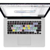 KB Covers Keyboard Cover for MacBook/Air 13/Pro (2008+)/Retina - InDesign (ID-M-CC-2)