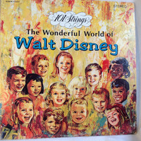 101 Strings the Wonderful World of Walt Disney Album