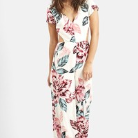 Women's KENDALL + KYLIE at Topshop Floral Print Jumpsuit