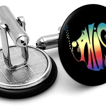 Phish Logo Cufflinks