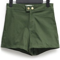 Casual High-waisted Shorts - OASAP.com
