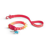 American Girl® Accessories: Spiky Collar & Leash