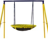 1 or 2-person UFO/ Flying Saucer Swing-Set for Kids/Toddlers - The Perfect Gift/Present