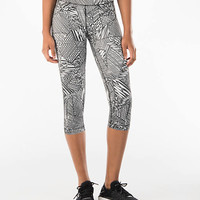 "Women's Under Armour HeatGear Printed 18"" Training Capri Pants"