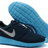n005 - Nike Roshe Run Mesh (Dark Blue/Blue)