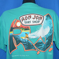 "80s Ron Jon Surf Shop ""The Original"" Long Beach Island t-shirt Large"