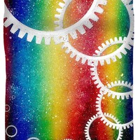 Rainbow Space Highway Duvet Cover for Sale by Shawna Rowe - Queen