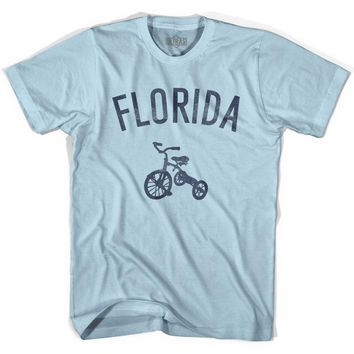 Florida State Tricycle Adult Cotton T-shirt
