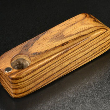 EMBER OUT PIPES • Zebra Wood • Image 4 Is Just For Fun • Handmade • Don't Forget Screens From The Drop Down Menu