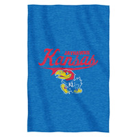 Kansas Jayhawks NCAA Sweatshirt Throw