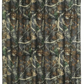 Cowgirl Kim Oak Camo Shower Curtain