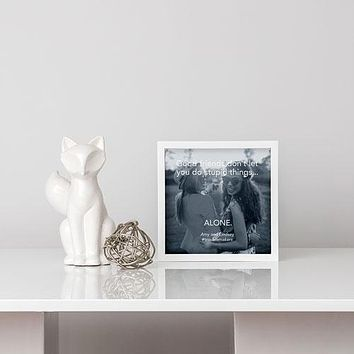 Shadow Box Photo Frame White (Pack of 1)