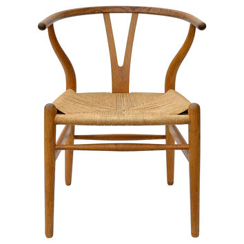 Wishbone Chairs by Hans Wegner, S/4