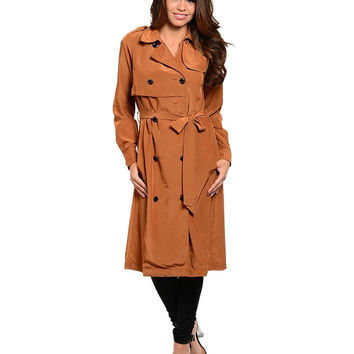 Eyes On You: long trench coat by Jealous Tomato